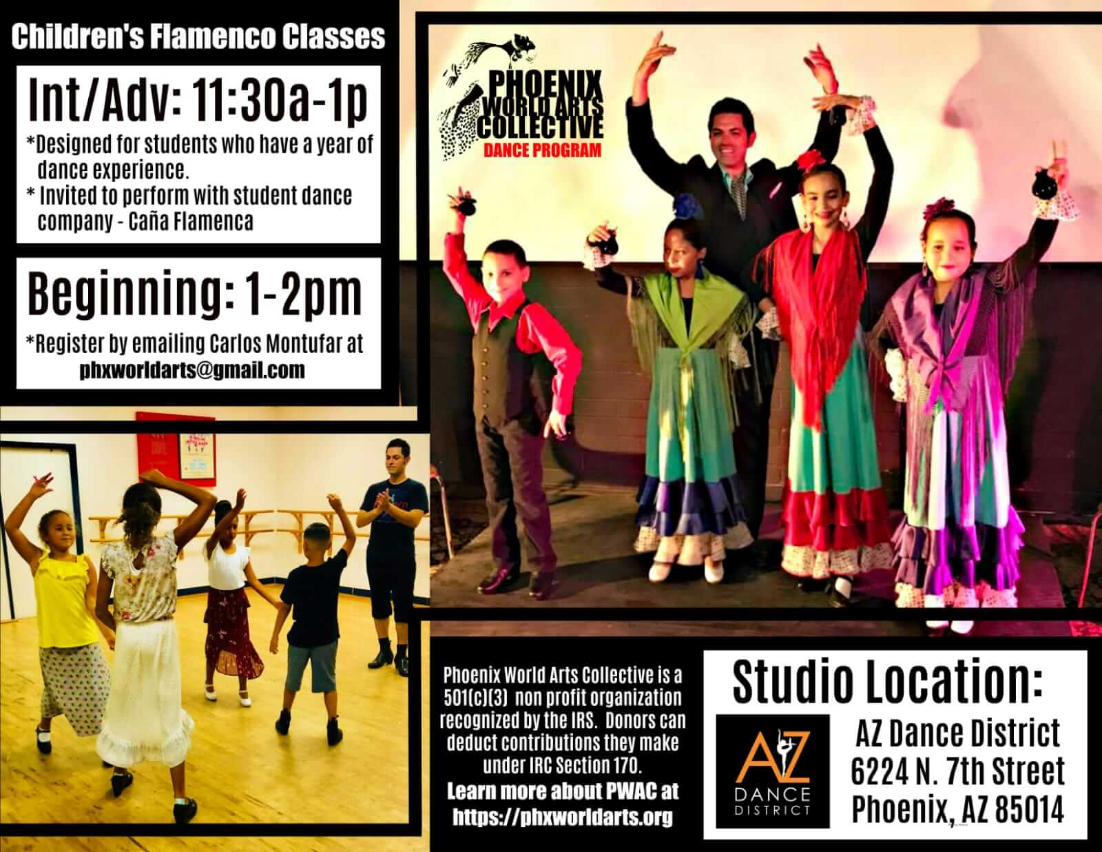 kids flamenco dance classes phoenix az